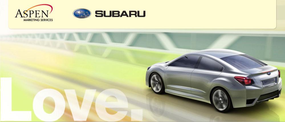 Aspen Marketing Services: Subaru RFP Response